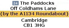 24 The Paddocks Address, Cambridge CB1 Accommodation Room To Rent, To Let